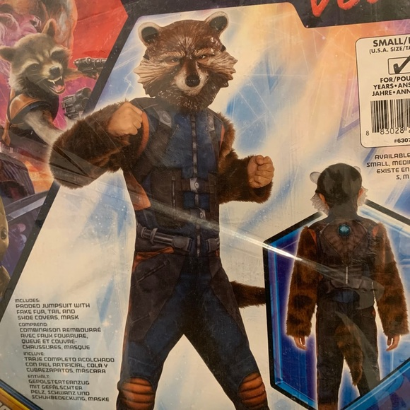 Child costume rocket raccoon
